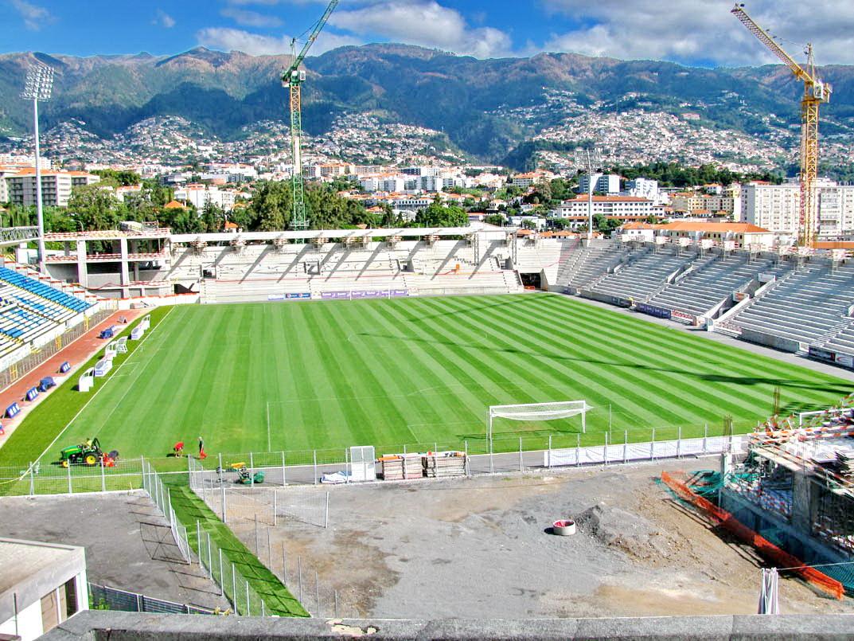 Barreiros stadium under renovation