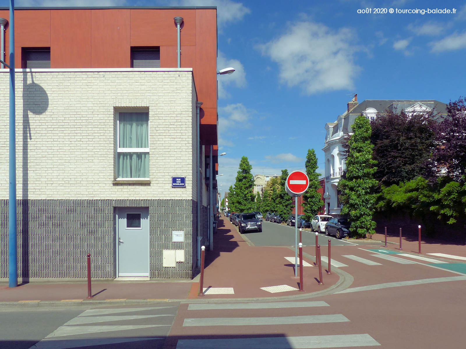 Rue Pasteur, Tourcoing 2020