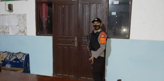 Polsek pematang karau terus tingkatkan patroli malam hari ke daerah perkantoran pemerintah