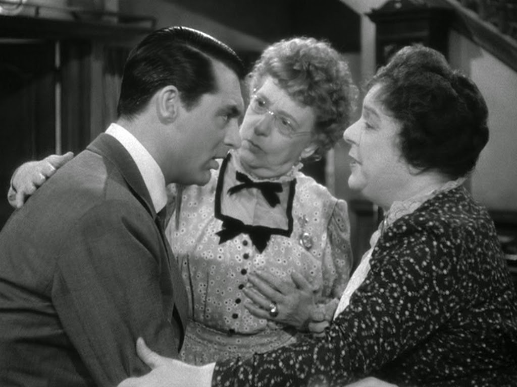 Arsenic and Old Lace, starring Cary Grant, Directed by Frank Capra