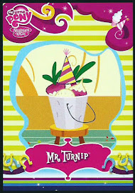 My Little Pony Mr Turnip Series 2 Trading Card