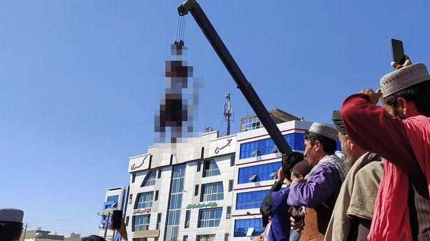Gantung Mayat Pelaku Penculikan di Depan Umum, Taliban: Ini untuk Peringatan Bagi Semuanya!