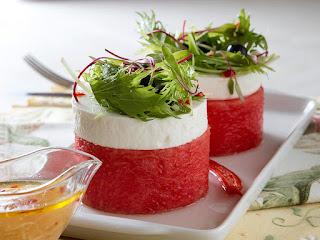 Salada de melancia light