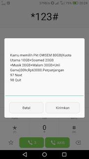 Kuota Murah Axis Paket Owsem 80 GB Cuma 63 Ribu