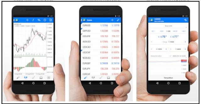Download dan cara menggunakan aplikasi metatrader 4 di android