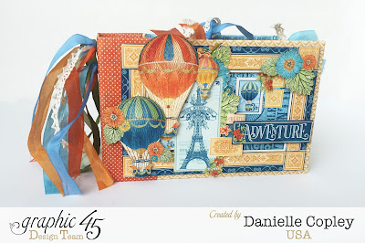Mini Album using Graphic 45's New World's Fair Collection