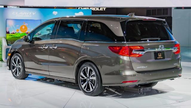 2018 Honda Odyssey Reviews