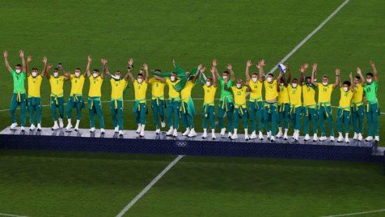 Brasil vence a Espanha e ganha o ouro olímpico no futebol