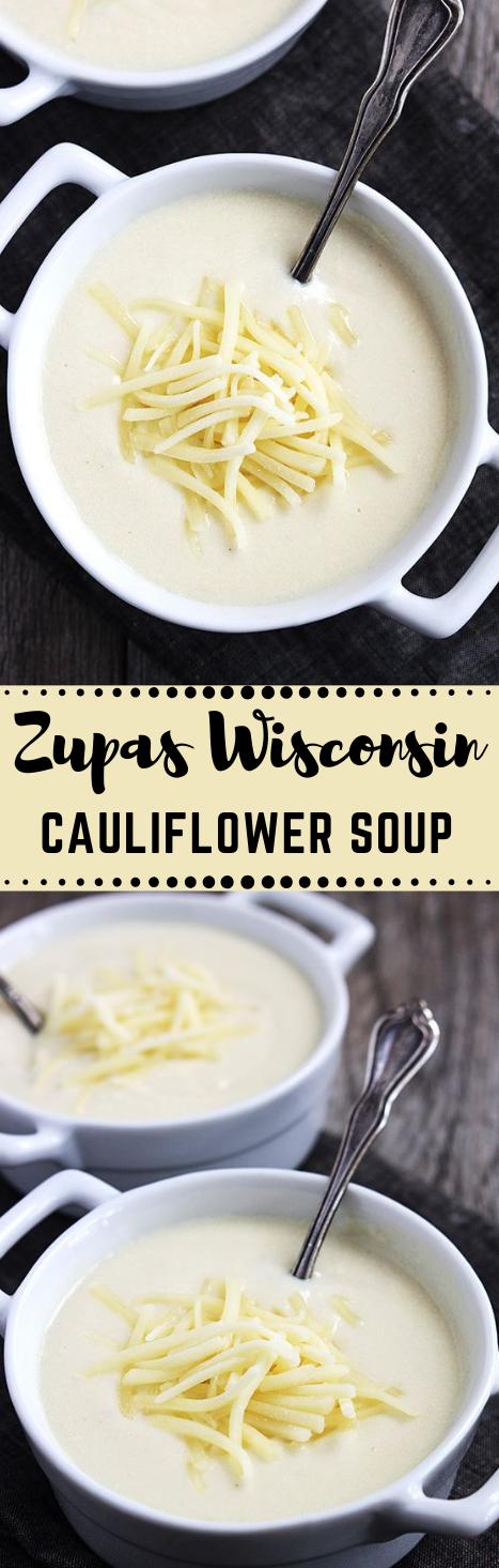 ZUPAS WISCONSIN CAULIFLOWER SOUP #healthydiet #whole30 #cauliflower #soup #easy