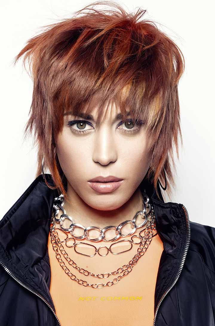 color de pelo caoba 2020 rojizos