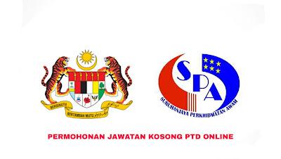 Permohonan Jawatan Kosong PTD 2020 SPA Online