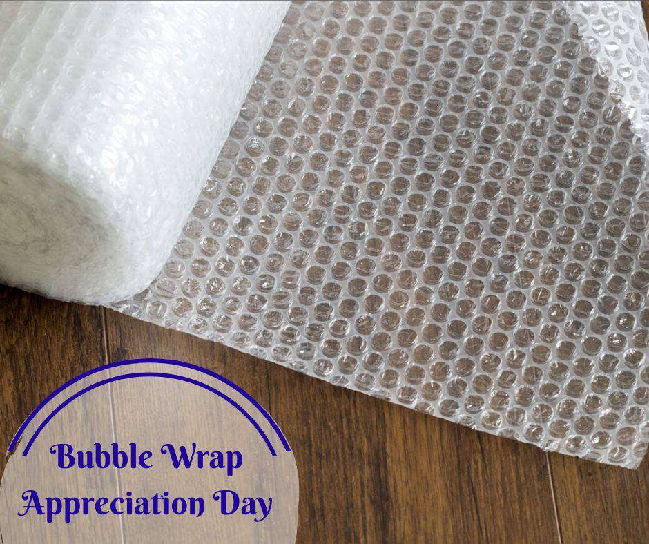National Bubble Wrap Appreciation Day Wishes Pics