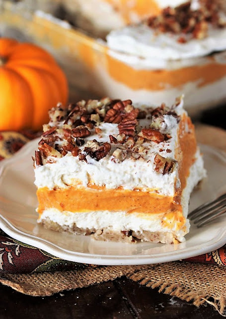 Piece of Pumpkin Yum Yum Dessert Image