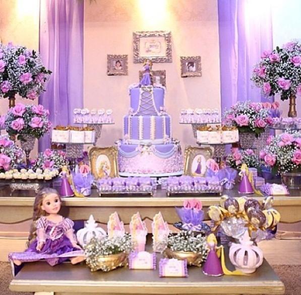 Decoracion Rapunzel Fiesta ~ 101 fiestas Ideas para tu fiesta de Enredados o Rapunzel