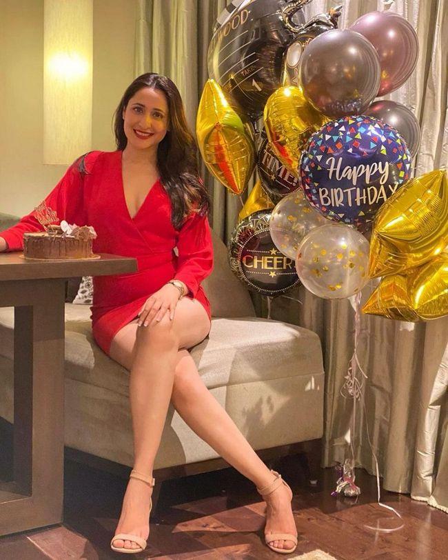 Pic Talk of the day: Pragya Jaiswal Ravishing In Red On Her Birthday?
