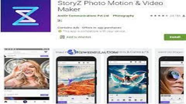 Aplikasi Foto Bergerak Yang Lagi Hits