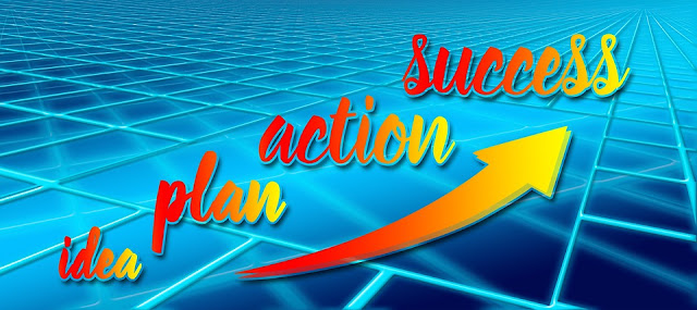 Attaining financial freedom starts with idea backed by plan and taking action that leads to success