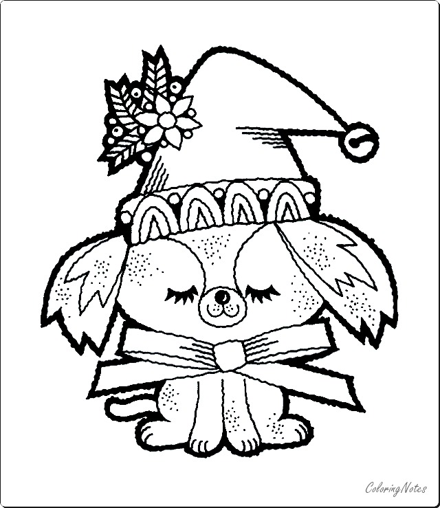 15 Cute Christmas Coloring Pages For Kids Free Printable
