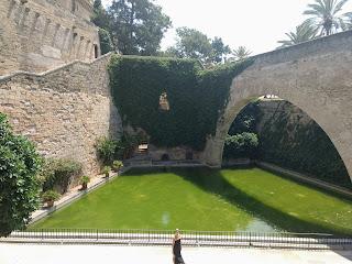 Jardines antiguos de Palma muy visitado por miles de turistas