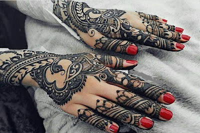 Latest full hand Mehndi Designs for hands