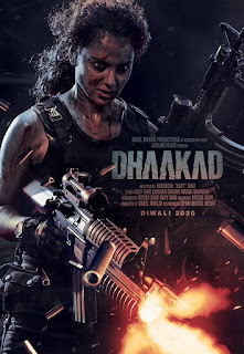 Dhaakad First Look Poster 2