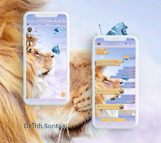 Lion Butterfly Theme For YOWhatsApp & Fouad WhatsApp By Driih Santos