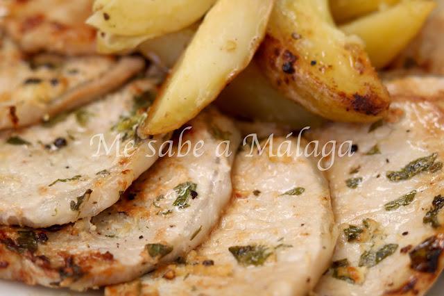 receta filetillos lomo de cerdo malagueña