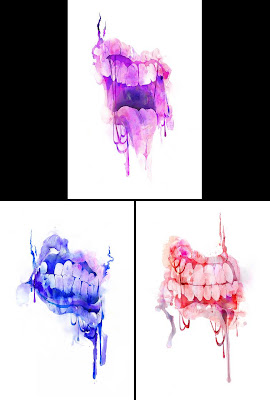 Bite Me Watercolor Prints by The Given