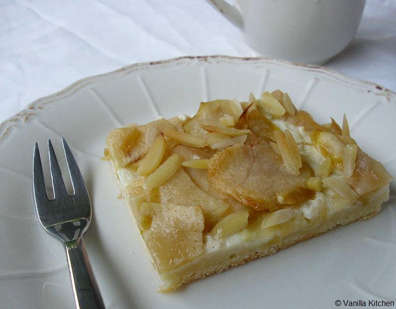 No Plain Vanilla Kitchen Apfelkuchen Experimentell