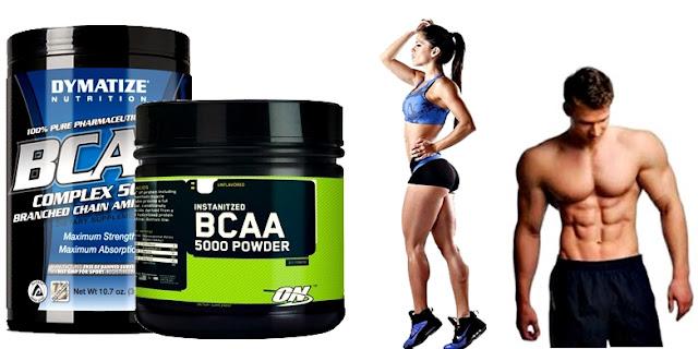 BCAA como suplementos para aumentar la masa muscular