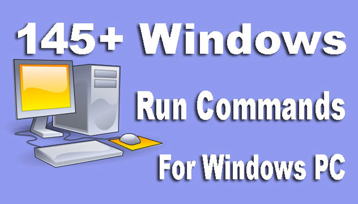 All Windows Run Commands Hindi