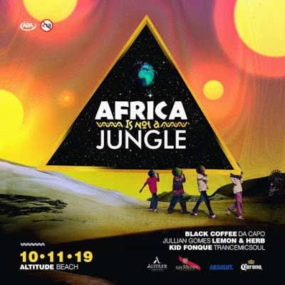 Black Coffee - Africa Is Not A Jungle Mix (2019-12-24)