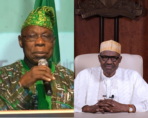 Image result for (FULL INTERVIEW) It was the right decision to have endorsed Buhari in 2015 - Obasanjo