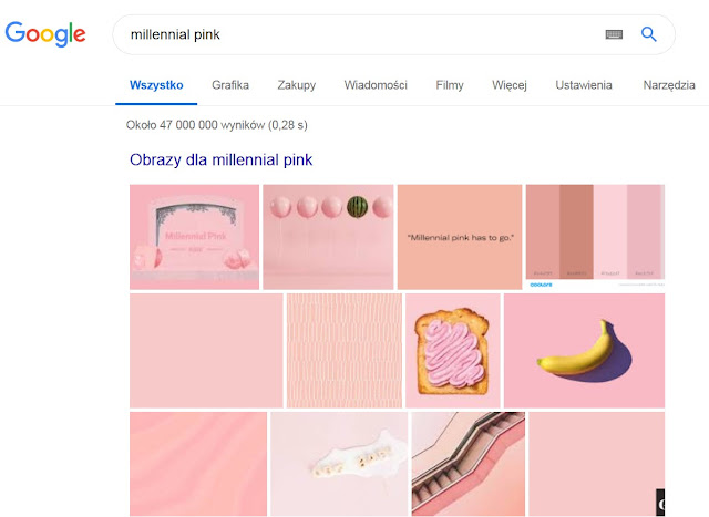 marketing kolorów, kolorowy marketing, color marketing, millennial pink, scandi pink, tumblr pink, pink ideal, pale dogwood, living coral