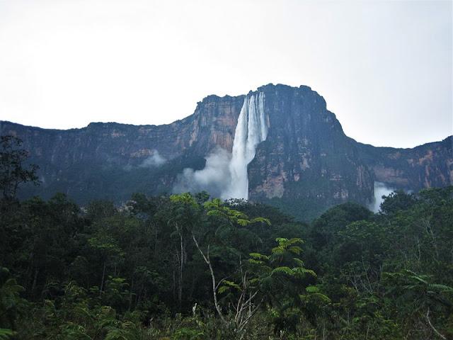 Canaima, Salto Ángel