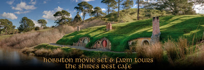 Hobbiton as created by Peter Jackson