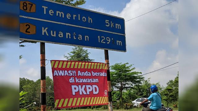 PKPD Temerloh Jaya kali-2. Kini 14 Lokaliti Dalam Temerloh Dikenakan PKPD Bermula 24 Julai Ini