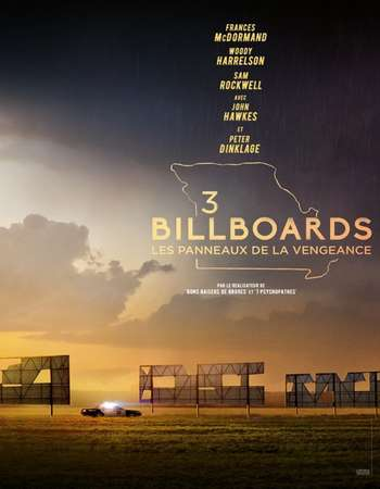 Three Billboards Outside Ebbing Missouri 2017 Hindi Dual Audio BRRip Full Movie Download