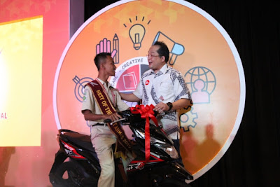 Best of The Best Student 2019, Rizal Alamsyah dari SMKN 1 Batealit