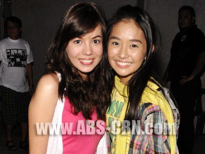 "The Young Kathryn Bernardo and Julia Montes in ""Goin ...