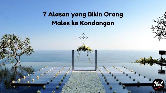7 Alasan yang Bikin Orang Males ke Kondangan