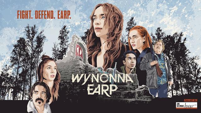 Wynonna Earp season 4 key art