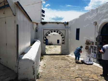 Tunis piata de suveniruri