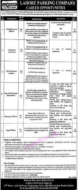 lahore-parking-company-jobs-2021-application-form
