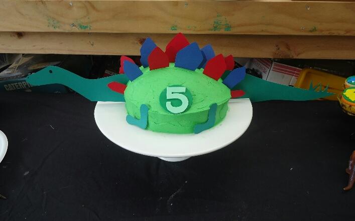 Stitch N B Tch Wellington Stegosaurus Birthday Cake