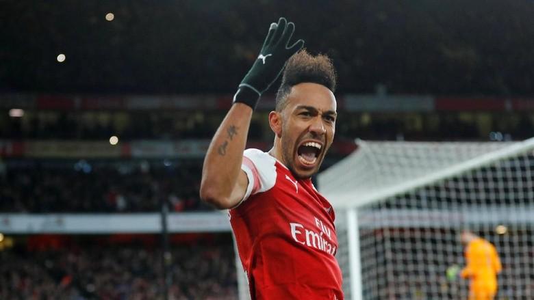 Aubameyang Pede Arsenal Dapat Akhiri Musim di Empat Besar