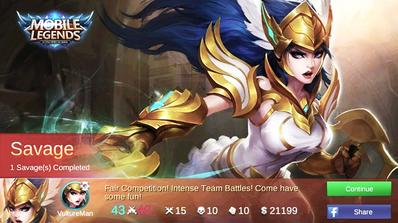 Freya Hero yang gampang Savage di Mobile Legend