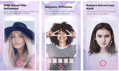 aplikasi mempercantik hasil selfie
