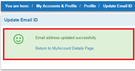 how to register email account in sbi online