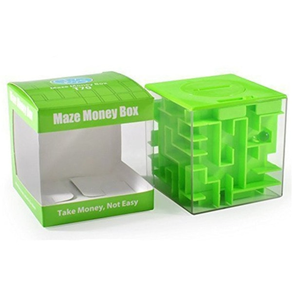 Amaze Cube Money Maze Bank #stockingstuffersforkids